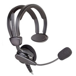Medium Weight Headset for Control Room Applications