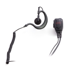 G-LOOP EARPIECE WITH MIC AND PTT
