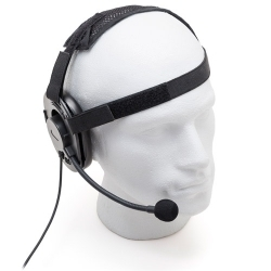 IP67 Tactical Style Headset with Cloth Headband